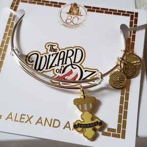 Alex & Ani Wizard of Oz Courage charm bangle